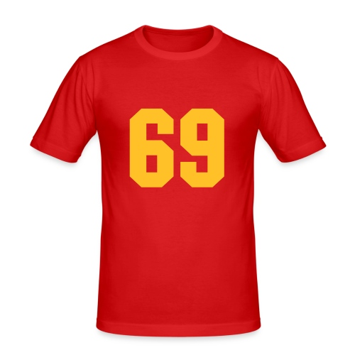 69 T - Men's Slim Fit T-Shirt