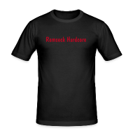 T-Shirts ~ Männer Slim Fit T-Shirt ~ Remseck Hardcore Shirt