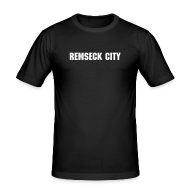 T-Shirts ~ Männer Slim Fit T-Shirt ~ Remseck City Shirt