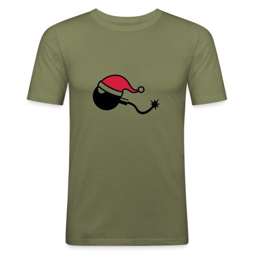 Lass es krachen... - Männer Slim Fit T-Shirt