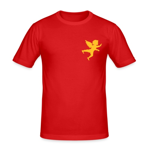 Weihnachts(b)engel - Männer Slim Fit T-Shirt