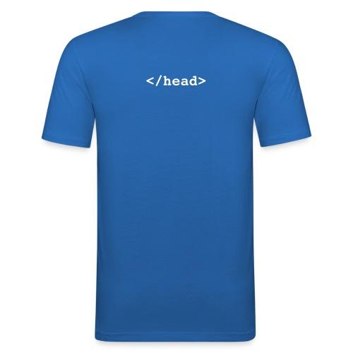 HTML skjorta - Slim Fit T-skjorte for menn