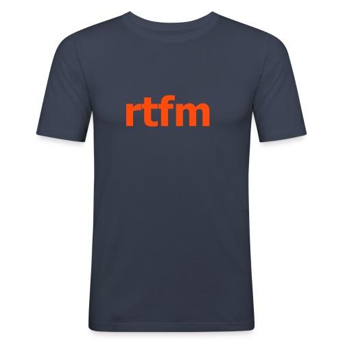 RTFM - Slim Fit T-skjorte for menn