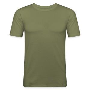 Skjorte Lysgrønn Vanlig - Slim Fit T-skjorte for menn
