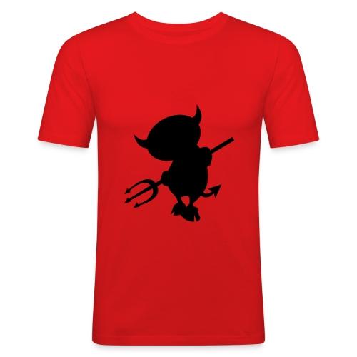 Man`s T-shirt - Männer Slim Fit T-Shirt