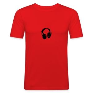 Headset - Slim Fit T-skjorte for menn