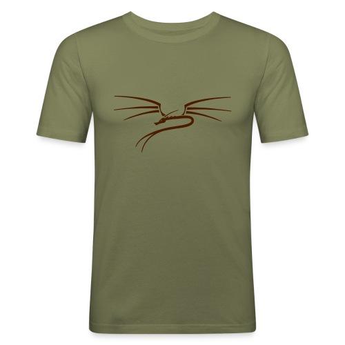Drache - Men's Slim Fit T-Shirt