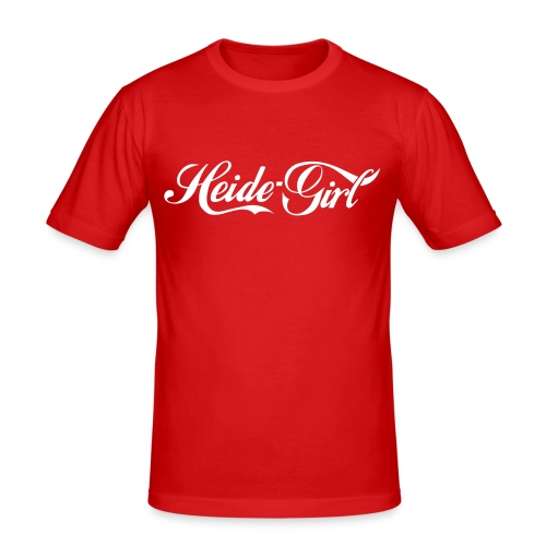 heide girl - Männer Slim Fit T-Shirt