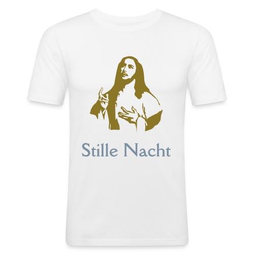 Jesus Gold & Silver - Männer Slim Fit T-Shirt