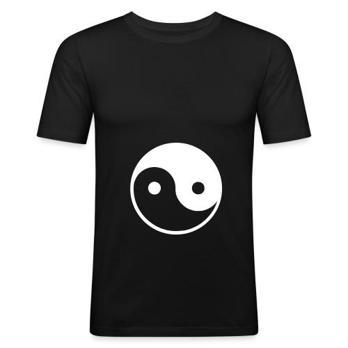 Yin-Yan - Camiseta ajustada hombre