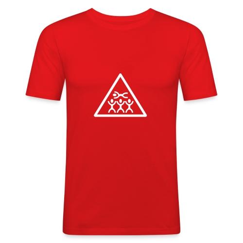 Crowd Surfing - Männer Slim Fit T-Shirt