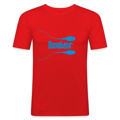 Sperm4 - T-shirt près du corps Homme