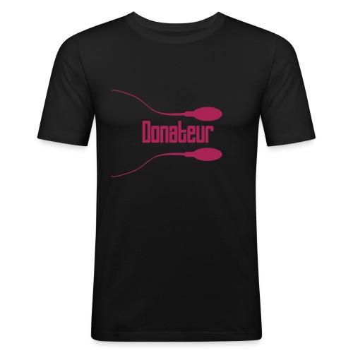 Sperm2 - T-shirt près du corps Homme