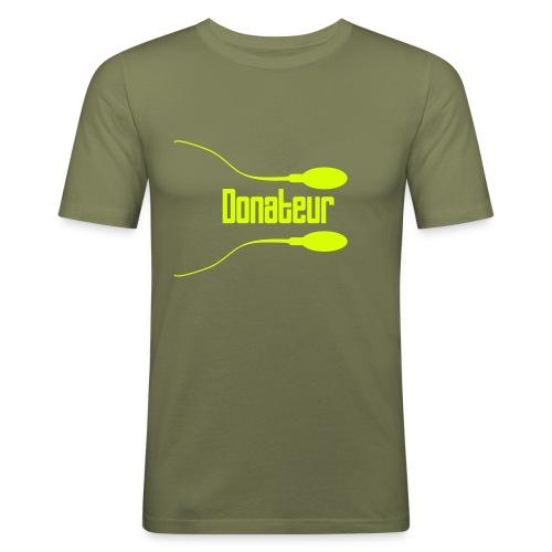 Sperm3 - T-shirt près du corps Homme
