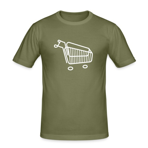 Shopping Cart - Slim Fit T-skjorte for menn