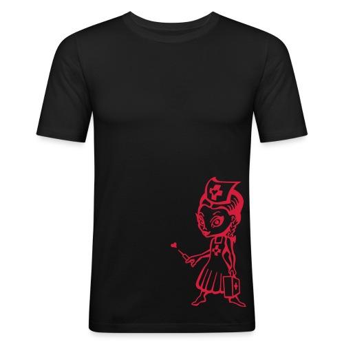 Mistress - Männer Slim Fit T-Shirt
