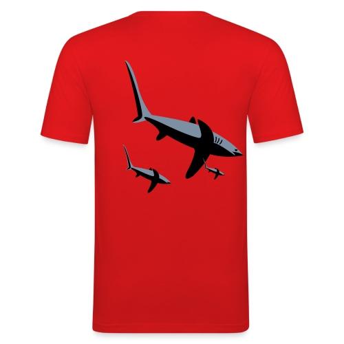Shark tee - Men's Slim Fit T-Shirt