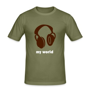 music music music - Men's Slim Fit T-Shirt