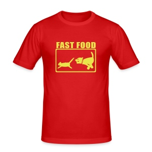 Fast Food - Men's Slim Fit T-Shirt