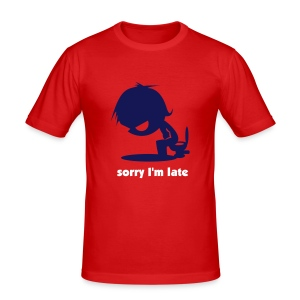 I'll be right there! - Men's Slim Fit T-Shirt