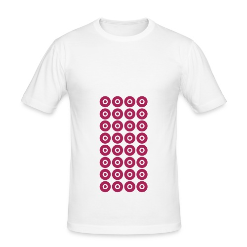 32 Nipples Type 3 (for men) - slim fit T-shirt