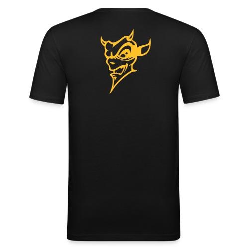 Gold Devil - Männer Slim Fit T-Shirt