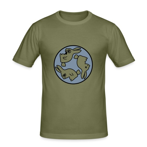 Rabit Marron - Camiseta ajustada hombre