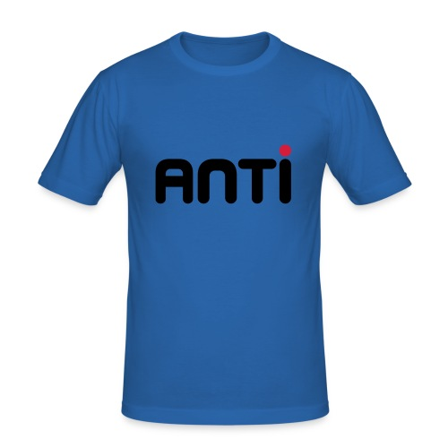 Anti Metro - Männer Slim Fit T-Shirt