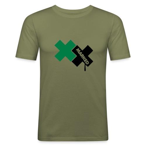 Marked | camel - Männer Slim Fit T-Shirt