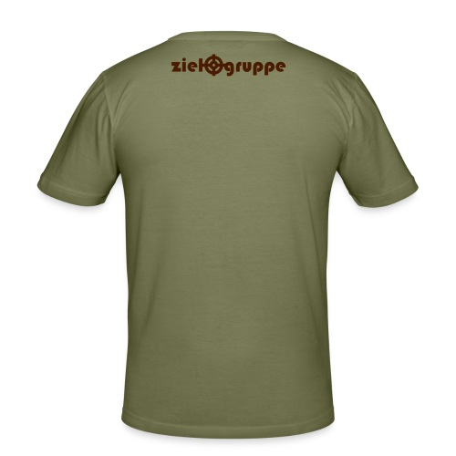 Ziel_KMUB-Shirt - Männer Slim Fit T-Shirt