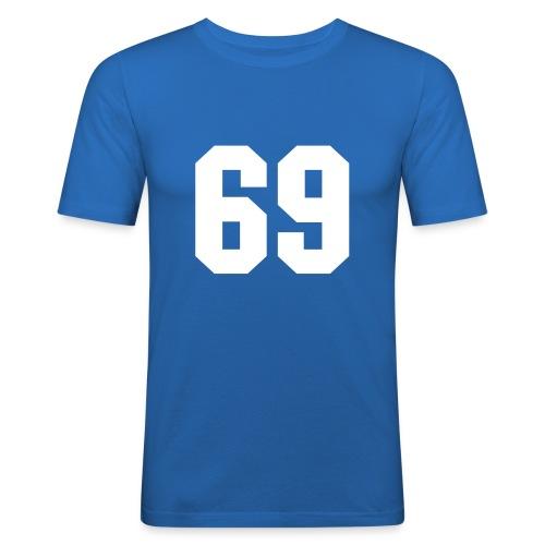 69 - T-shirt près du corps Homme