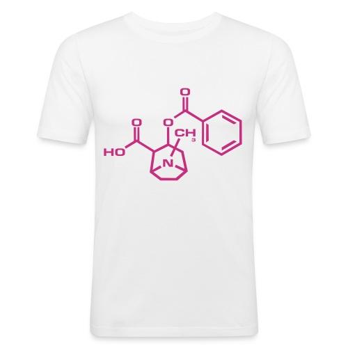 Cocaine - Maglietta aderente da uomo