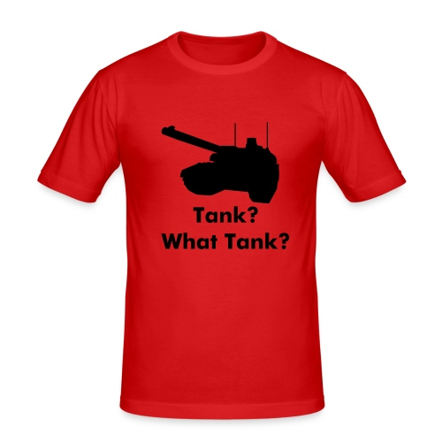 Tank Tee - Men's Slim Fit T-Shirt