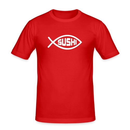 Sushi - Slim Fit T-shirt herr