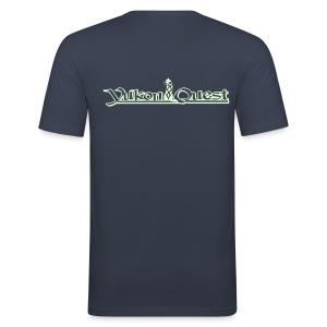 Yukon Quest GinD Shirt [v+h] - Männer Slim Fit T-Shirt
