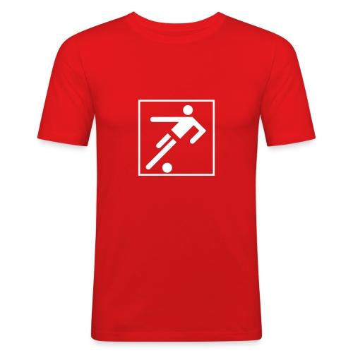 Soccer - Männer Slim Fit T-Shirt