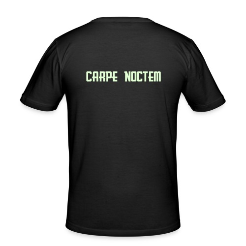 Carpe Noctem - Slim Fit T-skjorte for menn