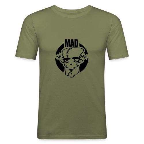 Mad - Maglietta aderente da uomo