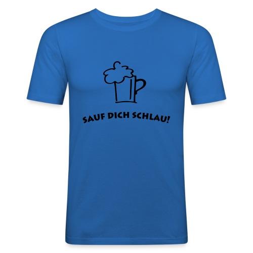 Allohol - Männer Slim Fit T-Shirt