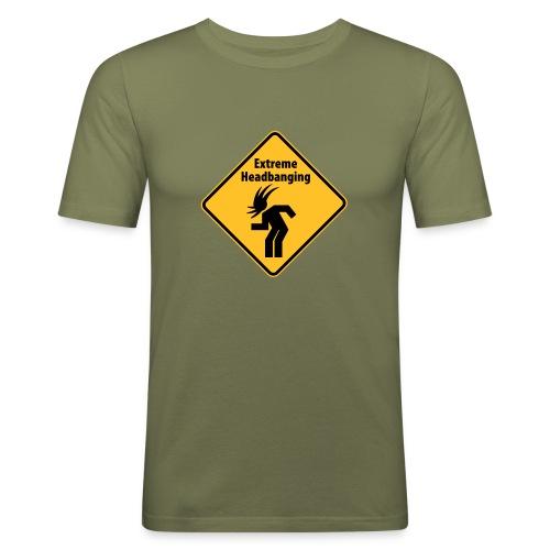 universal-shirts.de - Headbanging - Männer Slim Fit T-Shirt