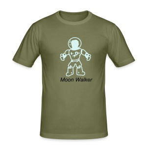 Moon Walker - Men's Slim Fit T-Shirt