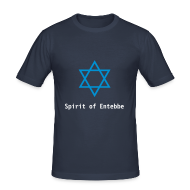 T-Shirts ~ Männer Slim Fit T-Shirt ~ T-Shirt Magen David