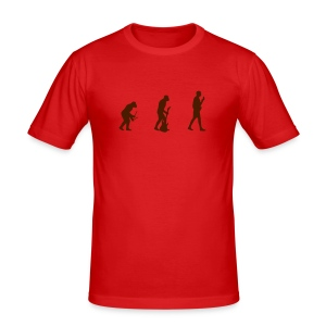 Evolution of Music 2 - Men's Slim Fit T-Shirt