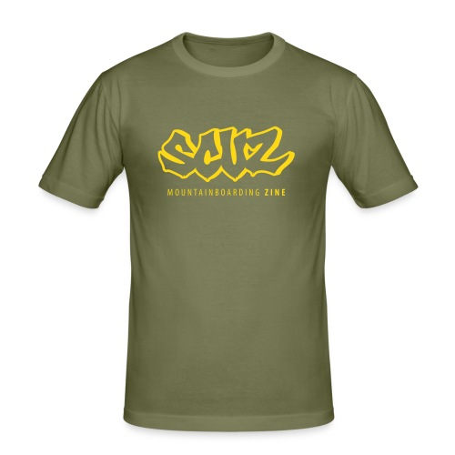 The Scuz T (camel/gold) - Men's Slim Fit T-Shirt