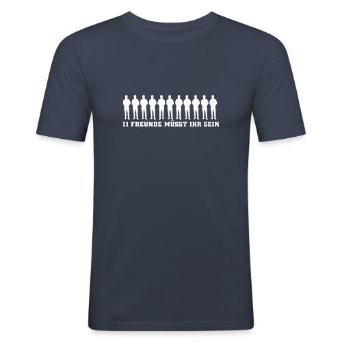 T-Shirt 11 Freunde - Männer Slim Fit T-Shirt