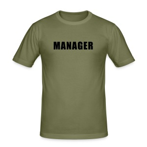 manager - Men's Slim Fit T-Shirt