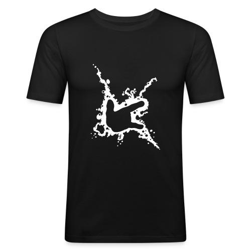 ILY Abstrakt - Männer Slim Fit T-Shirt