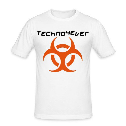 Techno4Ever - Männer Slim Fit T-Shirt