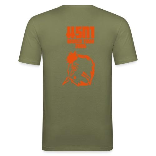 H5N1_KMUB-Shirt - Männer Slim Fit T-Shirt