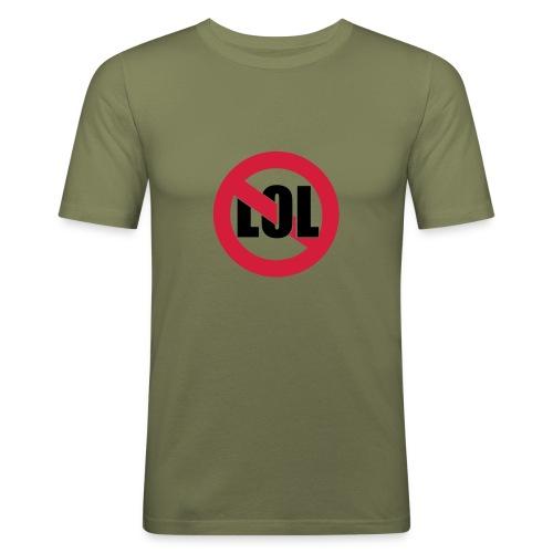 T SHIRT PAS LOL - T-shirt près du corps Homme
